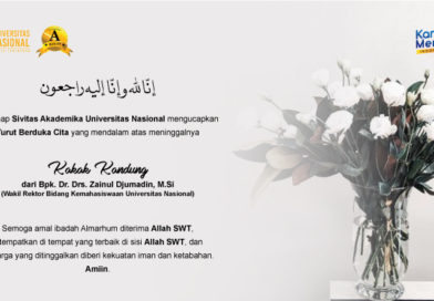 Turut Berduka Cita Yang Mendalam Atas Meninggalnya Kakak Kandung dari Bpk. Dr. Drs. Zainul Djumadin, M.Si. (Warek bidang Kemahasiswaan)