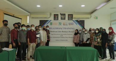 Tingkatan Kinerja, Biro Administrasi Sumber Daya Manusia UNAS Beri Pelatihan